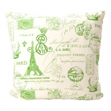 "20"" x 20"" Onofre Pillow, Grasshopper"