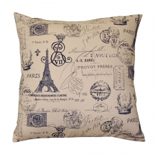 "20"" x 20"" Warner Pillow, Navy"