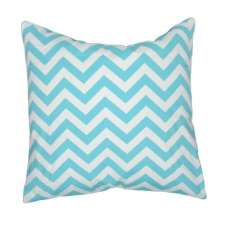 "20"" x 20"" Dulzura Pillow, Aqua"