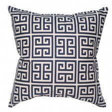 "20"" x 20"" Fernbrook Pillow, Navy"