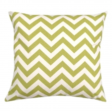 "20"" Zippered Pillow Cover with Feather Down Insert"