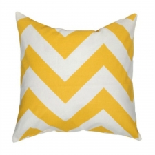"20"" x 20"" Barona Pillow, Yellow"