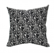 "20"" x 20"" Galax Pillow, Black"