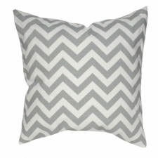 "20"" x 20"" Roanoake Pillow, Gray"