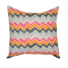 "20"" x 20"" Murray Pillow, Mandarin/Pink"