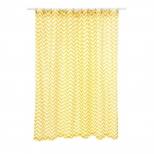 "72"" x 72"" Santee Shower Curtain, Yellow"