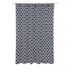 "72"" x 72"" Torrey Shower Curtain, Navy"