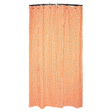 "72"" x 72"" Santee Shower Curtain, Mandarin"