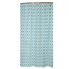 "72"" x 72"" Poway Shower Curtain, Arctic Blue"