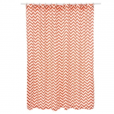 "72"" x 72"" Dixon Shower Curtain, Coral"