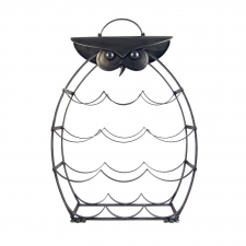 Iron Owl Wine Rack