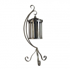 Hanging Iron Lantern with Stand