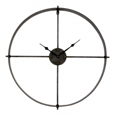 "24"" Metal Wall Clock"