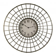 Geometric Metal Clock