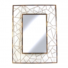 Shapes Rectangle Metal Mirror
