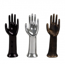 Ceramic Hand Décor, Set of 3