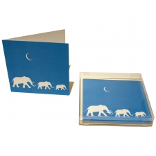 Elephant Trio Notecards, Set of 10
