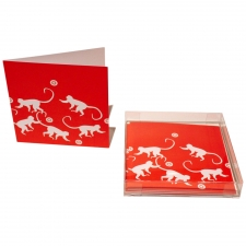 Monkey Business Notecards, Set of 10