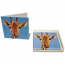 Jolly Giraffe Notecards, Set of 10