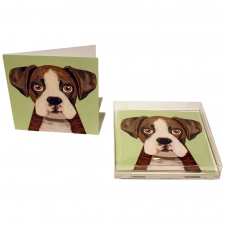 Boxer Pup Notecards, Set of 10