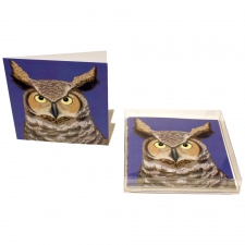 Night Owl Notecards, Set of 10