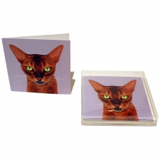 Cat Got Your Tongue Notecards, Set of 10