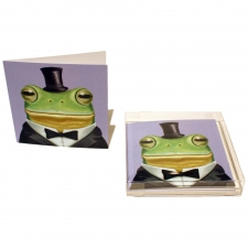 Alfred the Frog Notecards, Set of 10