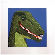"17"" The T-Rex Art Print"