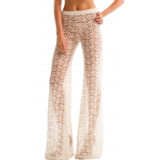 Lolo Bell Bottoms, Cream, S/M