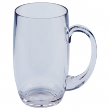 Set of 6 Palm Bay Beer Mug, Clear
