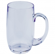Set of 6 Palm Bay Half Beer Mug, Clear