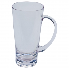 Set of 6 Boynton Latte, Clear