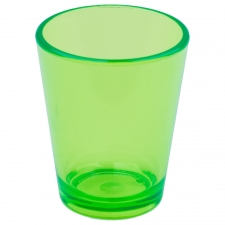 Set of 6 Palatka Shot Glass, Green