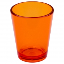 Set of 6 Palatka Shot Glass, Orange