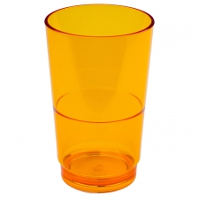 Set of 6 Delray Tumbler, Orange