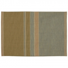 4' x 6' Wadhurst Rug, Apple Green/Sea Blue made by Fashionable Flatweaves.