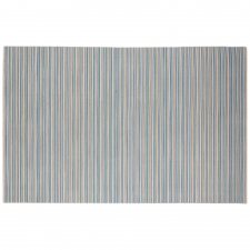 5' x 8' Rotorua Rug, Pastel Blue made by Fashionable Flatweaves.