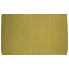 4' x 6' Lambourn Rug, Lime Green made by Fashionable Flatweaves.