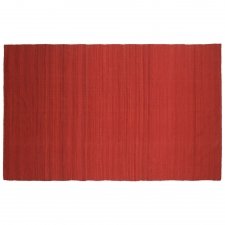 4' x 6' Masterton Rug, Mars Red made by Fashionable Flatweaves.