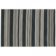 5' x 8' Timaru Rug, Ebony made by Fashionable Flatweaves.