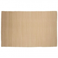 5' x 8' Elmham Rug, Soft Gold made by Fashionable Flatweaves.