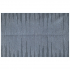 100% Wool Flatweave, Buxton Rug, Denim Blue/Dark Denim, 5' x 8'