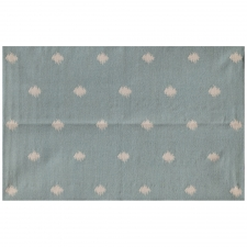 5' x 8' Denholme Rug, Light Turquoise made by Fashionable Flatweaves.