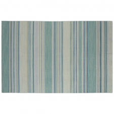 10' x 14' Birken Rug, Porcelain Blue made by Fashionable Flatweaves.