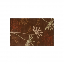 5' x 8' Jammu Rug, Dark Brown