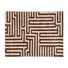 8' x 10' Goa Rug, Beige/Brown