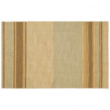 5' x 8' Tean Rug, Fog/Light Gold made by Fashionable Flatweaves.