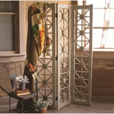 Merriam Wooden Room Divider made by Charming Rustic Accents.