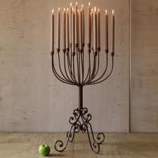 Savonburg Tabletop Candelabra made by Charming Rustic Accents.
