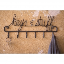 Keys & Stuff Hanging Rack